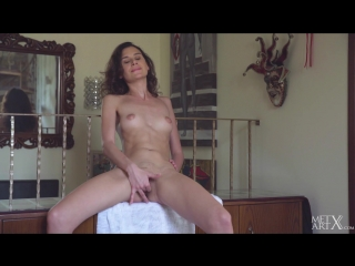 Cristin - Upskirt Stairs 2 [Solo, Masturbation, Erotic, Ass, 1080p]
