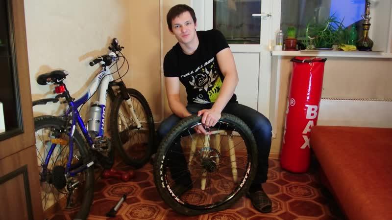 [RollAllDay] Как снять покрышку с обода велосипеда не используя монтажки. RollAllDay FAQ Bike