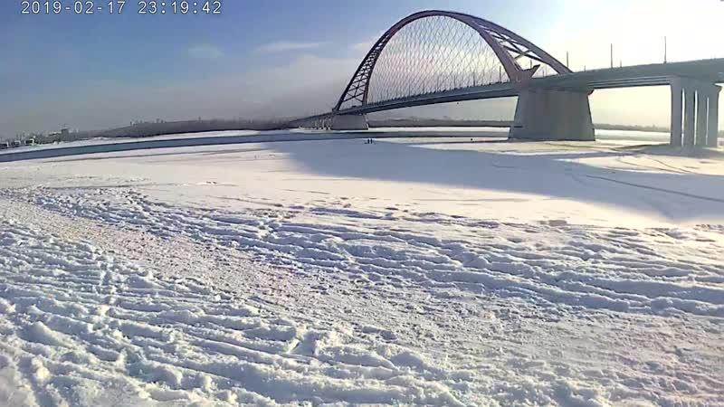 Щукарь на Бугринском мосту