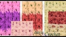 Punto primavera en relieve tejido a Crochet tallermanualperu