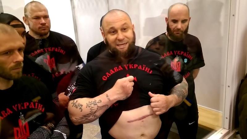 Срочно! ОПУСКАЮТ на Зоне АТОшников и Бандеровцев Видео с Тюрьмы батальон Торнадо!