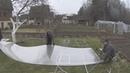 Раскрой поликарбоната на торцы ЭкоВис 5 8 метра
