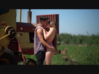 Kissing Prank - Family Farm Day