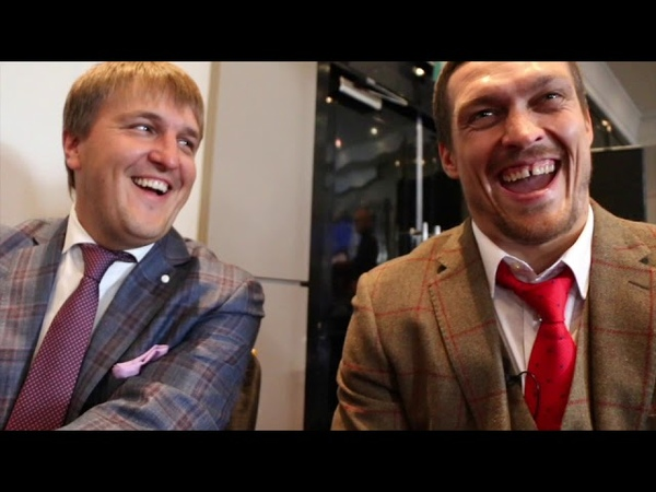 ДА, ВОЗМОЖНО Я СУМАСШЕДШИЙ / 'YES MAYBE I AM MAD' - OLEKSANDR USYK ON TONY BELLEW, JOSHUA, HEARN, CALLS WILDER FURY 'CRAZY MEN'
