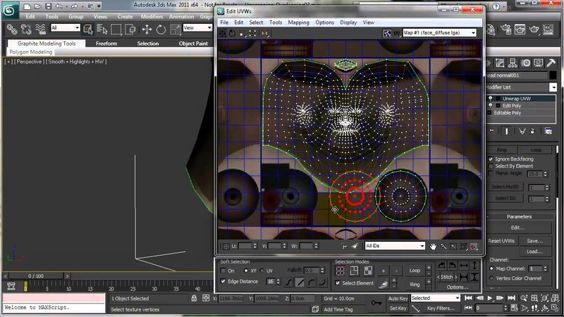 Overlapping UVs in 3ds Max