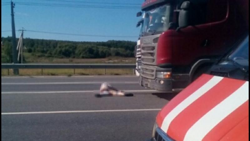 Мотоциклист погиб на Киевке