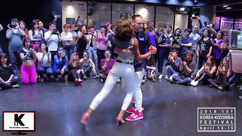 Isabelle and Felician Romantic Kizomba Dance with Beautiful Finish