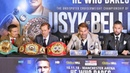 Oleksandr Usyk vs Tony Bellew FULL PRESS CONFERENCE Matchroom Boxing