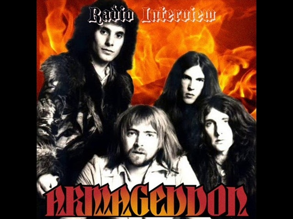 Armageddon - FULL RADIO INTERVIEW (1975 Promo LP vinyl rip) us/uk Space Rock