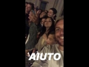 Another fan taken video of Justin and Hailey Baldwin in Ravello, Italy (September 21)
