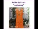 Saída de Praia Andressa /Crochê