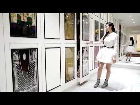 El armario más grande del mundo con sistema de huella digital