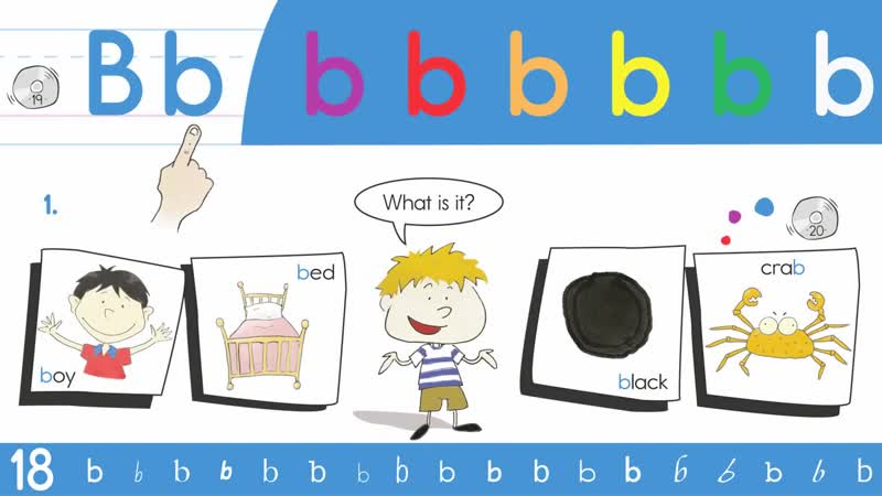 19. Bb Phoneme Chant - Think Read Write by ELF Learning