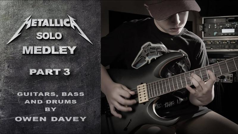 Metallica Solos Medley Pt 3 Multi Instrumental Cover