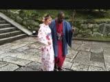 JuleKa Kizomba in Kimono, Kyoto, Japan