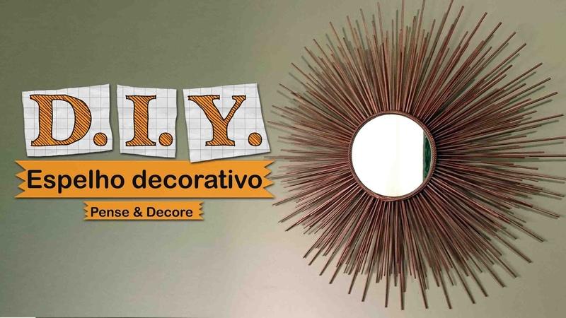 DIY - Espelho Decorativo 2 SUNBURST MIRROR