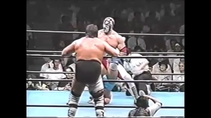 1996.07.24 - Steve Williams/Johnny Ace/Johnny Smith vs. The Patriot/Stan Hansen/Maunakea Mossman [JIP]
