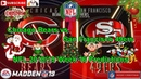 Chicago Bears vs. San Francisco 49ers | NFL 2018-19 Week 16 | Predictions Madden NFL 19