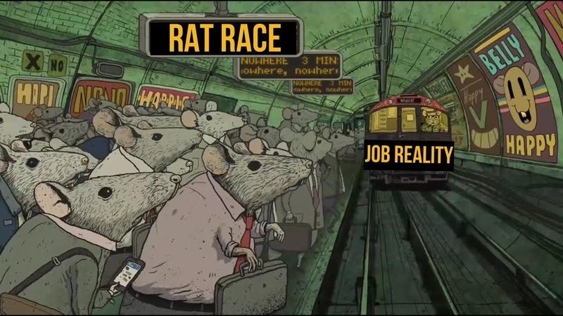 Rat Race A short film story by Steve Cutts