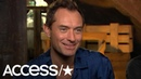 Jude Law Is 'Excited' To Explore Dumbledore's Romantic Past With Johnny Depp's Grindelwald | Access