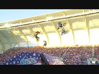 Freestyle with motocross