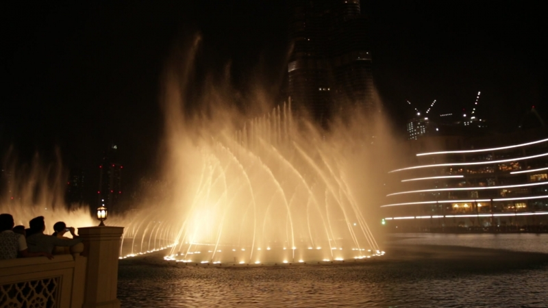 Дубай.Поющие фонтаны.Hero - Enrique Iglesias
