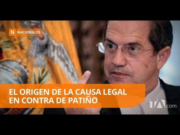Patiño es acusado de instigación por llamar a tomarse las instituciones públicas - Teleamazonas