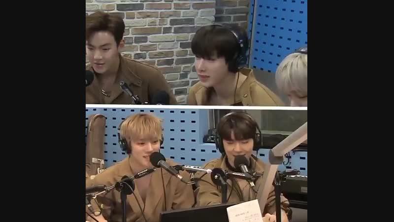 [VK][181113] Wonho about Neol Hada @ SBS Power FM Hwajeongs Power Time