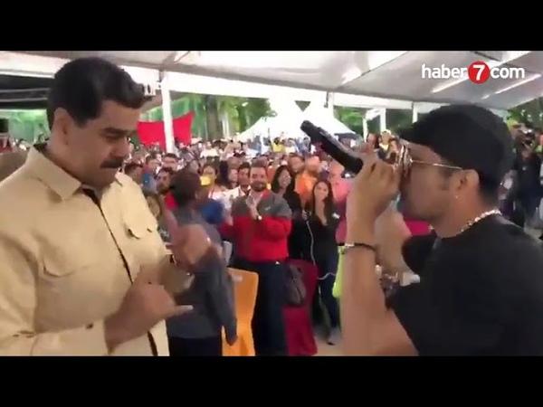 Maduronun keyfi yerinde! İşte zafer dansı haberler282