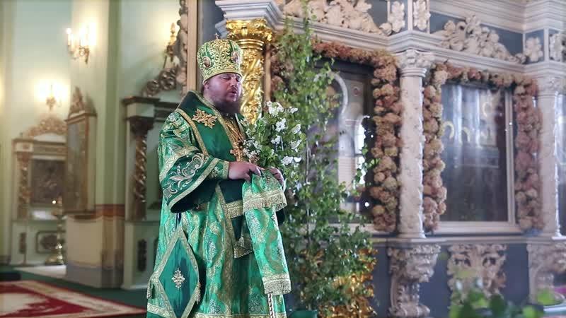 Слово митрополита Ферапонта в праздник Пятидесятницы