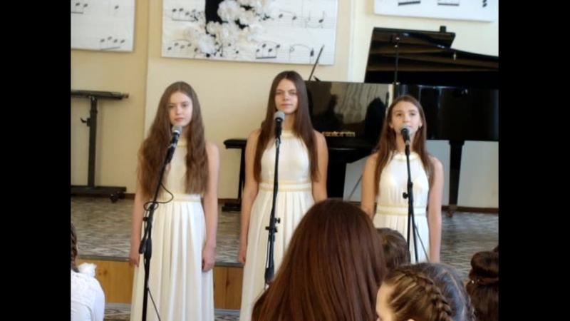 Тополя, Аллилуйя - исполняет трио НасТройка