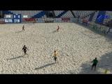 Московские молодежные пляжные игры. Пляжный футбол