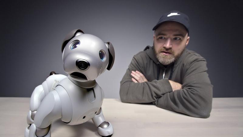 Sony Aibo - Робо Собака за 3000$ (Unbox Therapy RU)