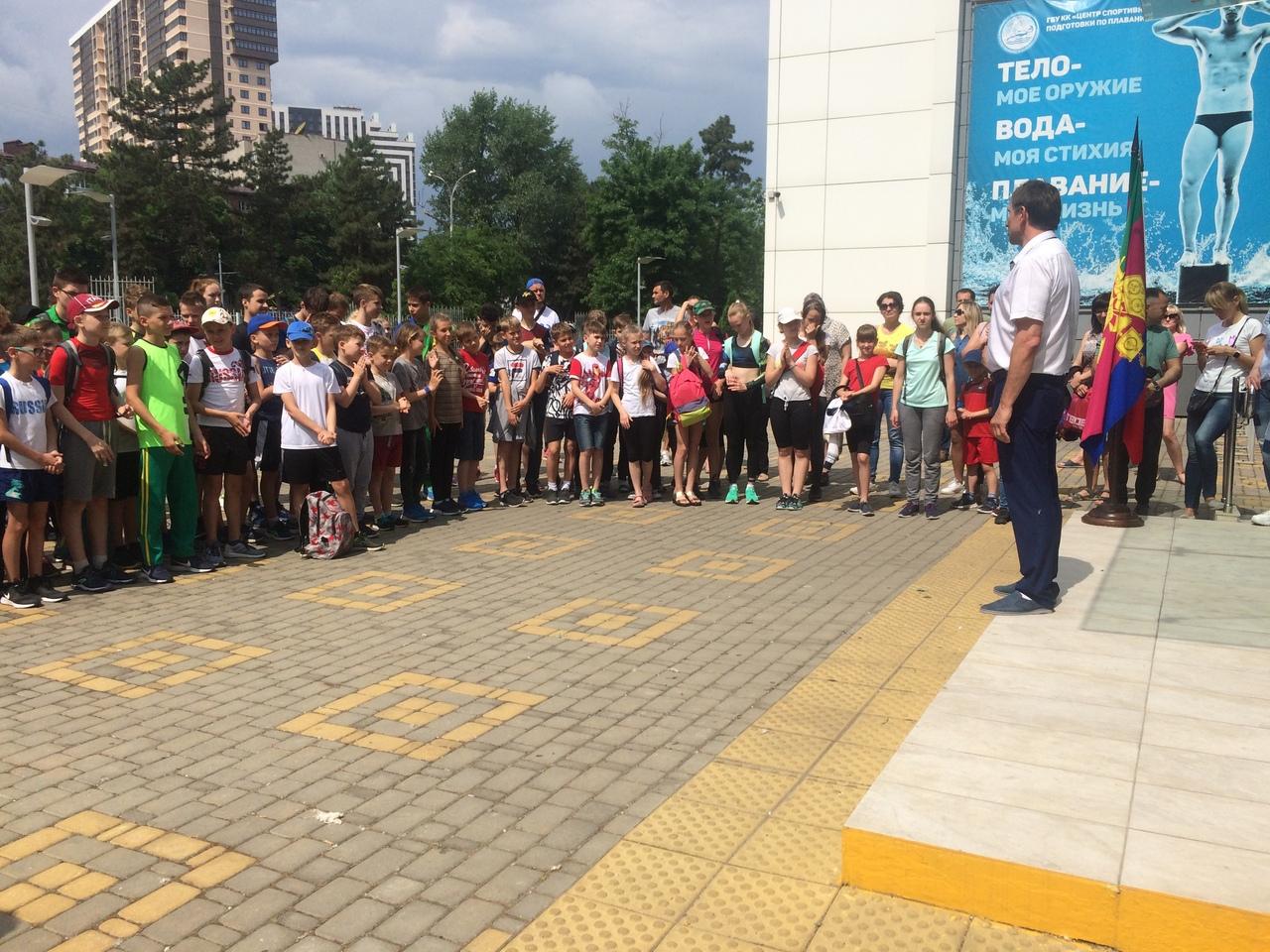Спортсмены ЛНР приняли участие в краевых соревнованиях по пятиборью (двоеборью) в Краснодаре