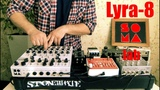 Lyra-8 Synth with effects pedals (live Improvisation)