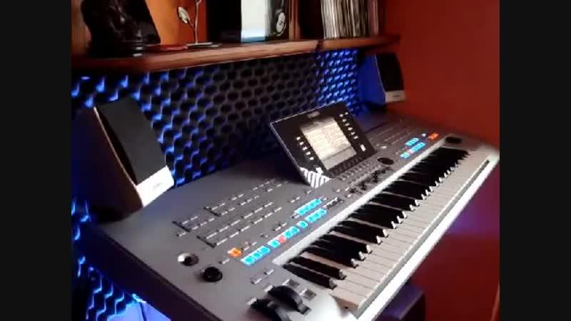 Modern Talking mix Yamaha tyros 4 sami