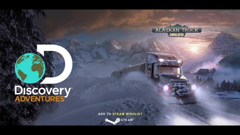 Трейлер игры Alaskan Truck Simulator