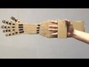 Как сделать руку робота из картона