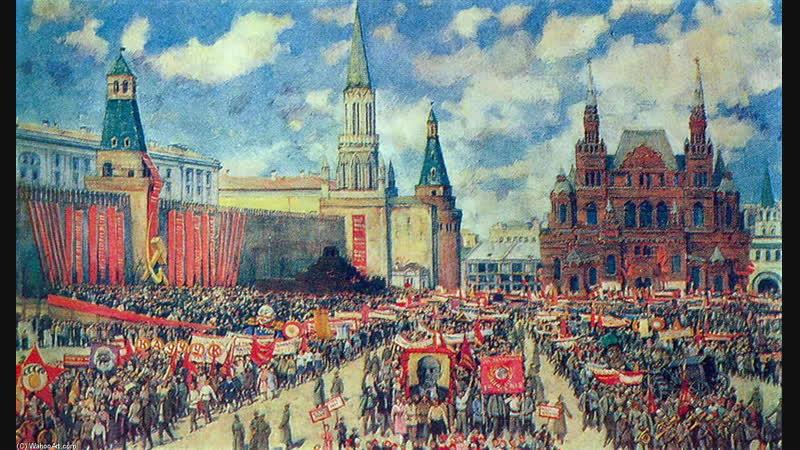 Москва майская. Подлинный вариант песни 1937 года.