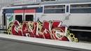 Graffiti Paris RER E 2018