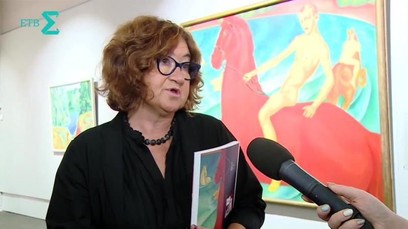 ЕТВ о выставке Владелица Красного коня