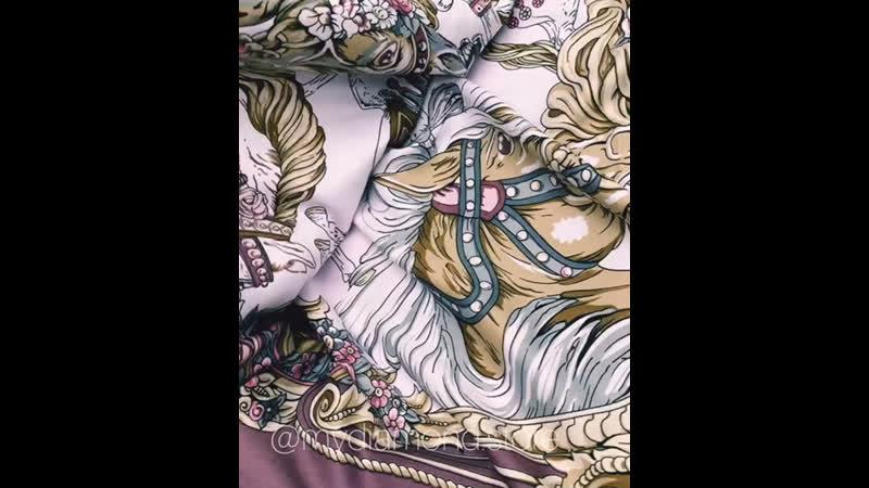 🌟сливовый весенний платок 100*100 ☑️ЦЕНА 1100₽