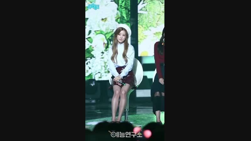 (161001) Music Core Fancam: Ding Dong (Chorong)