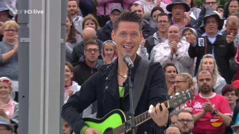 Die Draufgänger «Cordula Grün» (ZDF-Fernsehgarten 23.09.2018)