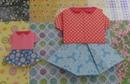 블라우스와스커트접기.오월의장미..종이접기.origami.535