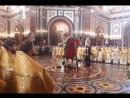 Торжественное богослужение и проводы десницы святителя Спиридона Тримифунтского