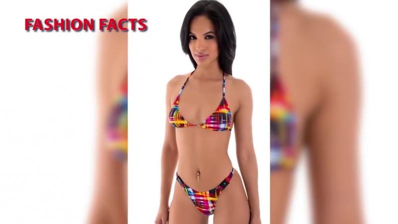 Beauty Cool In Micro Bikini - Mini String Super Trend PT4