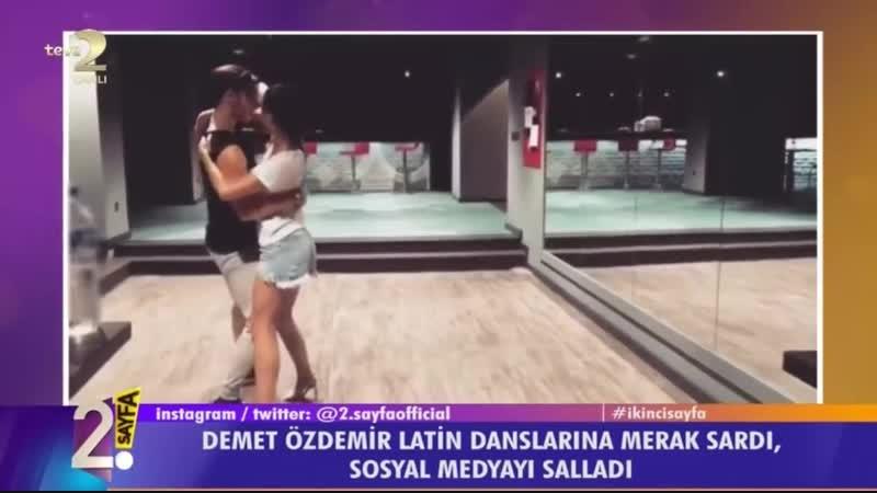 Demet Özdemir, Latin Danslarına Merak Saldı! Sosyal Medyayı Salladı