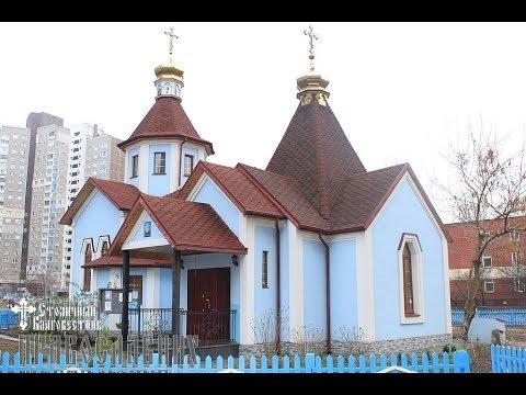 Святых 40 мучеников Севастийских: Утреня с полиелеем (видеокамера №1)