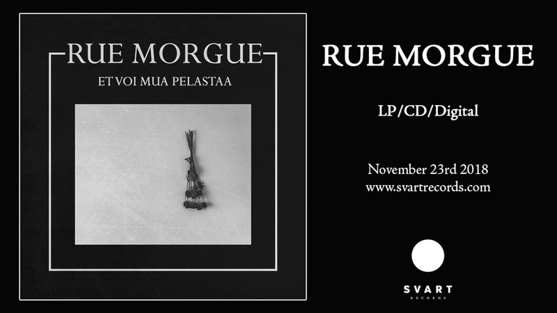 Rue Morgue - Et voi mua pelastaa (2018, ПРЕМЬЕРА)